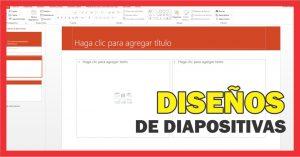 Aprende a usar los Diseños de diapositiva de PowerPoint.