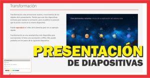 Como visualizar una presentación electrónica en pantalla completa