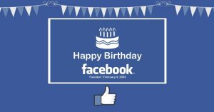 Hoy es el Aniversario de Facebook