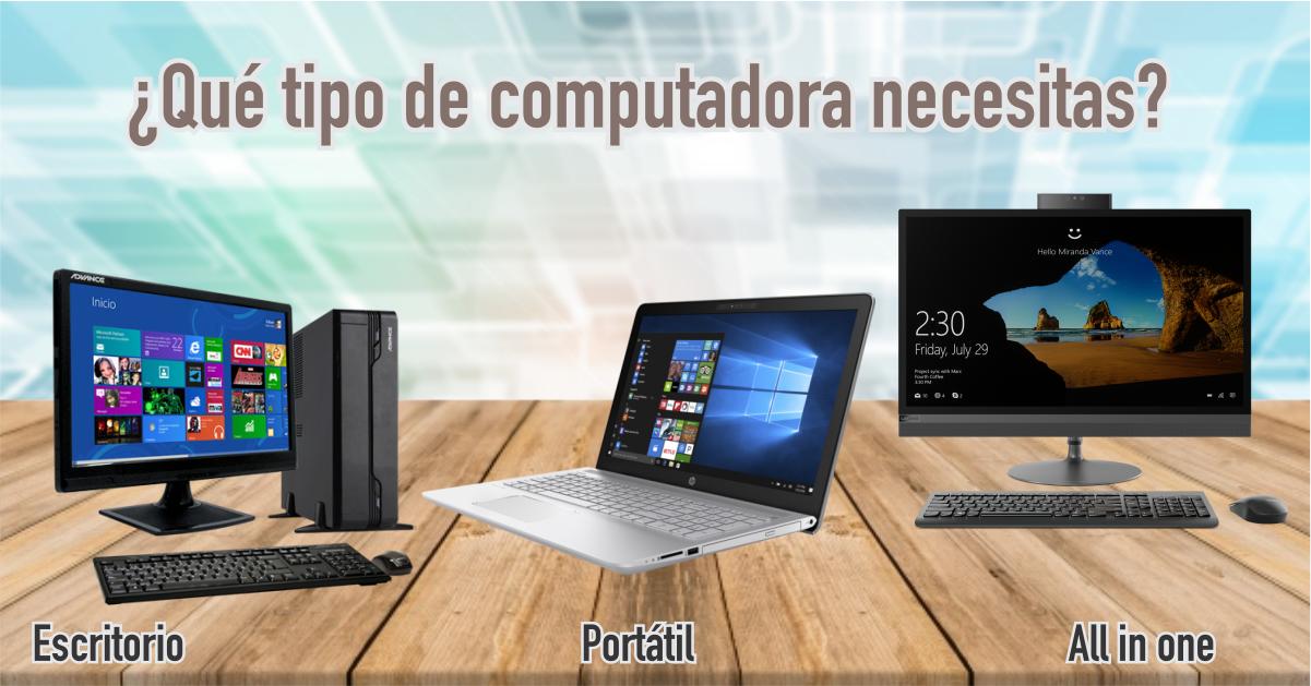 Consejos para elegir la computadora ideal