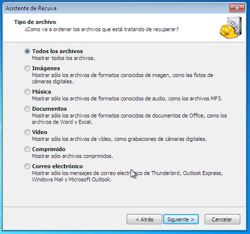 Como recuperar archivos borrados