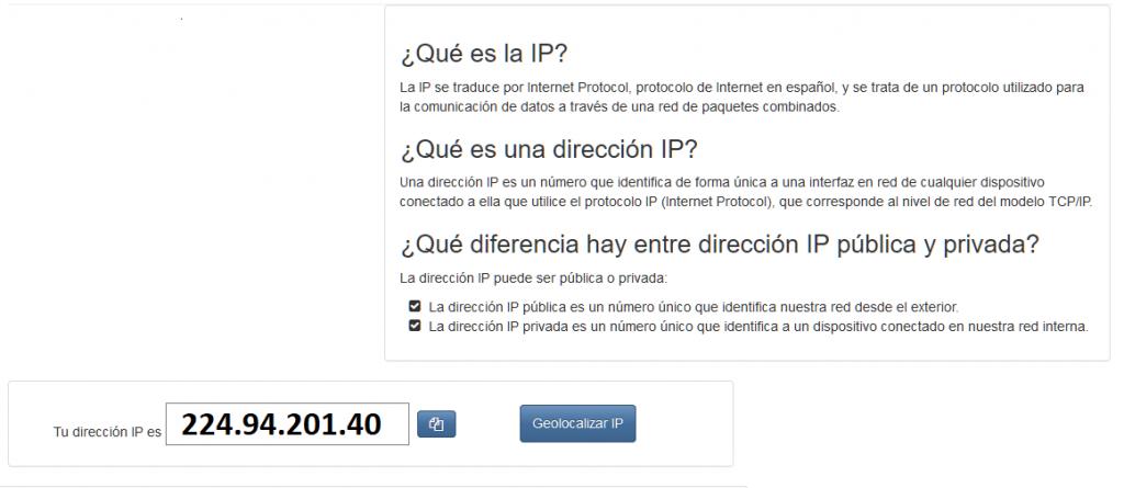 utilizar el escritorio remoto en Windows ip publica