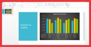 Insertar un gráfico en PowerPoint