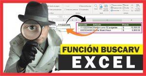 Cómo utilizar la función BUSCARV en Excel