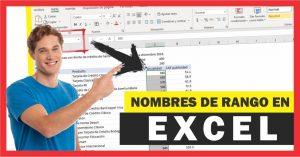 Como utilizar nombres de rango en las fórmulas de Excel
