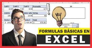 Formulas básicas en Excel