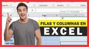 Trabajar con filas y columnas en Excel