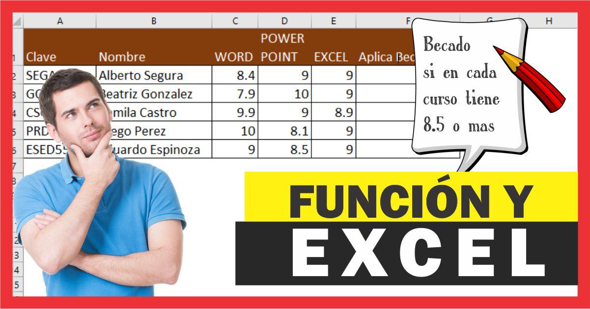 Uso de la Función Y en Excel