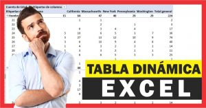 Manejo de Tablas dinámicas en Excel