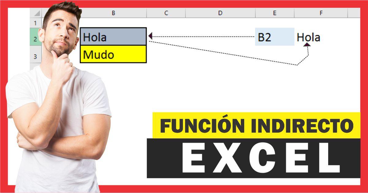 Como utilizar la función INDIRECTO en Excel – Ejemplos