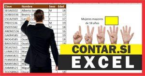 Función CONTAR.SI y CONTAR.SI.CONJUNTO en Excel – Ejemplos prácticos
